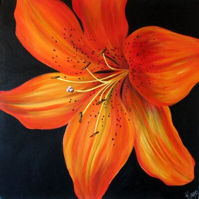 Tiger lily Painting Inspiration by alexandra0126 on ...